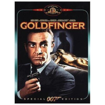 Goldfinger (Special Edition), Good DVD, Sean Connery, Gert Fröbe, Honor Blackman