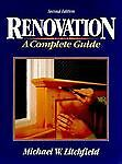 Renovation: A Complete Guide, Litchfield, Michael W., Good Book