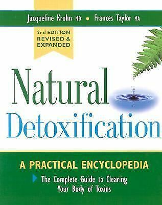 Natural Detoxification, Frances Taylor, Jacqueline Krohn, Good, Books
