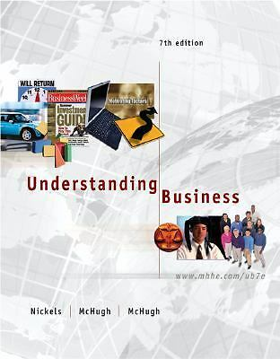 Understanding Business, 7th Edition (Book & CD-ROM), William G Nickels, James Mc