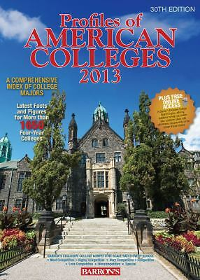 Profiles of American Colleges: with Website Access (Barron's Profiles of Americ
