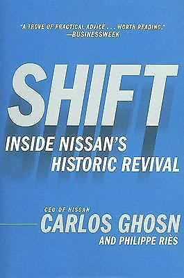 Shift, Carlos Ghosn, Philippe Ries, Good, Books