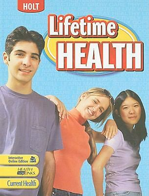 Lifetime Health: Student Edition 2009, HOLT, RINEHART AND WINSTON, Good, Books