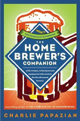 The Homebrewer's Companion, Papazian, Charlie, Good Book