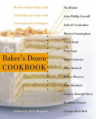 The Baker's Dozen Cookbook, , Good Book