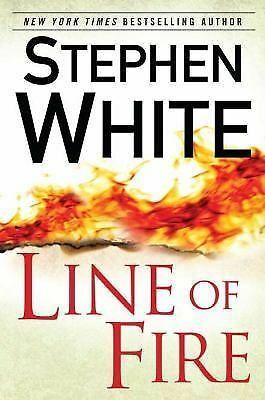 Line of Fire, White, Stephen, Very Good Book