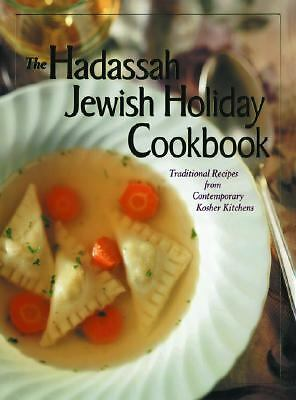 Hadassah Jewish Holiday Cookbook, , Good Book