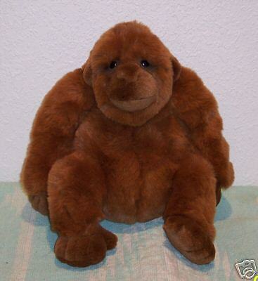 "* 14"" APPLAUSE Stuffed Plush ZACHARY Ape MONKEY"