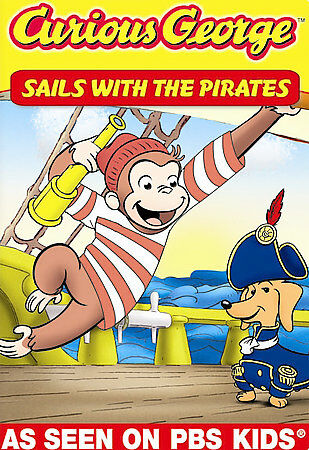 Curious George: Sails With The Pirates and Other Curious Capers!, Acceptable DVD