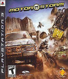 MotorStorm - Playstation 3, Good PlayStation 3, playstation_3 Video Games