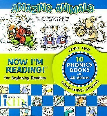 Now I'm Reading!: Amazing Animals - Level 2 (Now I'm Reading!: Level 2), Gaydos,