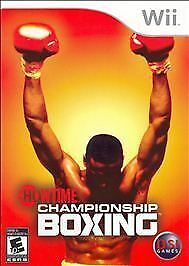 Showtime Championship Boxing - Nintendo Wii by Zoo Games