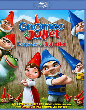 Gnomeo & Juliet (2011 Blu-ray w/Alternate Open and Reward Code)
