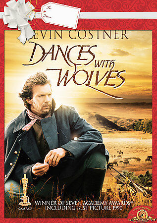 Dances with Wolves (Full Screen Theatrical Edition), Good DVD, Kevin Costner, Ma