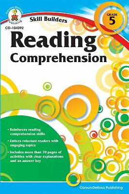 Reading Comprehension, Grade 5 (Skill Builders), , Good, Books