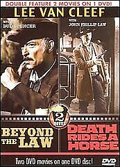 Beyond the Law/Death Rides a Horse, Good DVD, ,