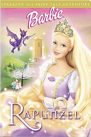 Barbie as Rapunzel, Good DVD, Kelly Sheridan, Anjelica Huston, Cree Summer, Ian