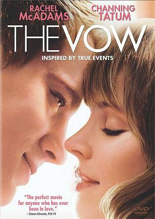 The Vow (+ UltraViolet Digital Copy), Good DVD, Rachel McAdams, Channing Tatum,