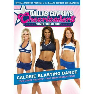 Dallas Cowboys Cheerleaders: Power Squad Bod! - Calorie Blasting Dance, Good DVD