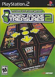 Midway Arcade Treasures 2 - PlayStation 2, Good PlayStation2, Playstation 2 Vide