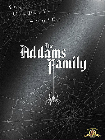 The Addams Family - The Complete Series, Excellent DVD, Weatherwax, Ken, Coogan,