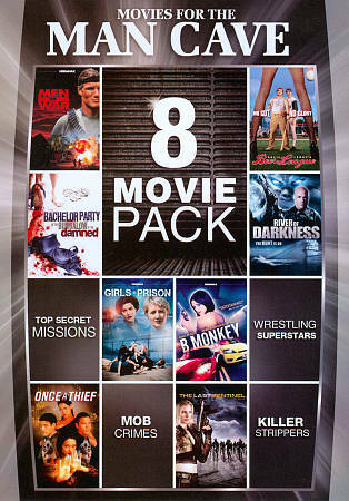 8-Movie Pack: Movies for the Man-Cave, Good DVD, ,