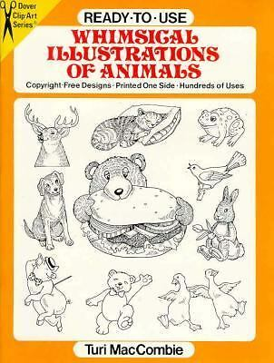 Ready-to-Use Whimsical Illustrations of Animals (Dover Clip-Art Series), MacComb