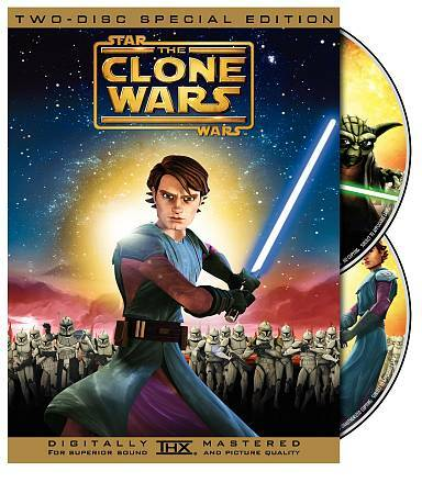 Star Wars: The Clone Wars  DVD Matt Lanter, Nika Futterman, Tom Kane, Ashley Eck