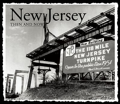 New Jersey Then and Now (Then & Now Thunder Bay) by Veasey, David
