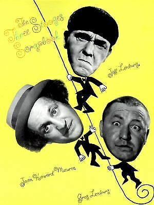 The Three Stooges Scrapbook, Greg Lenburg, Joan Howard Maurer, Jeff Lenburg, Goo