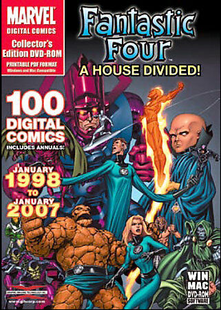 Marvel Comics - Fantastic Four: A House Divided - Over 100 Digital Comics from J