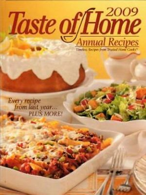 Taste of Home 2009 Annual Recipes, , Good Book