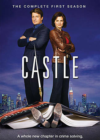 Castle: The Complete First Season, Good DVD, Stana Katic, Nathan Fillion, na