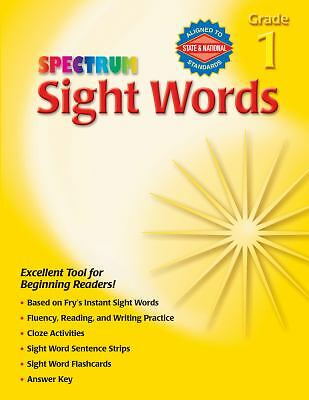 Sight Words, Grade 1 (Spectrum) by Spectrum