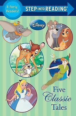Five Classic Tales (Disney Classics) (Step into Reading), Various, Good Book