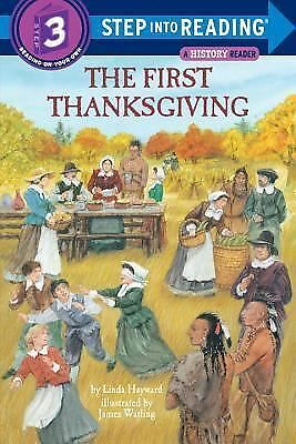 The First Thanksgiving (Step-Into-Reading, Step 3), , Good Book
