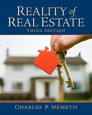 Reality of Real Estate (3rd Edition), Nemeth, Charles P., Good Book