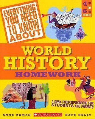 Everything You Need to Know About World History Homework (Everything You Need to