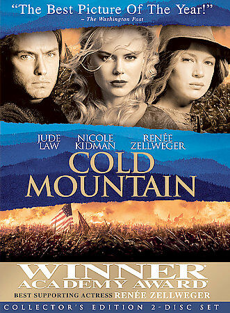Cold Mountain (Two-Disc Collector's Edition), Good DVD, Jude Law, Nicole Kidman,