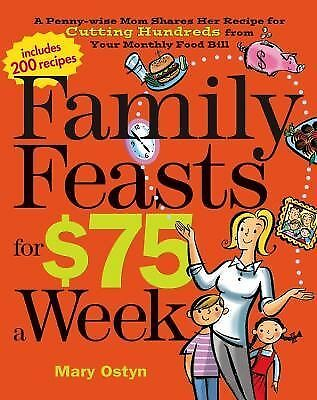 Family Feasts for $75 a Week: A Penny-wise Mom Shares Her Recipe for Cutting Hun