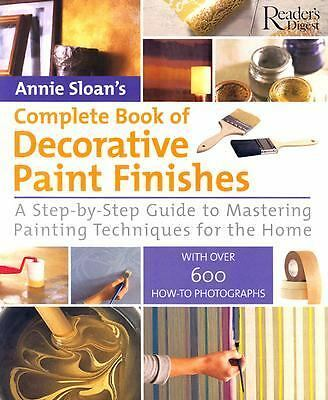 Complete Book of Decorative Paint Finishes, Annie Sloan, Good Book