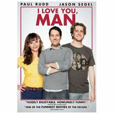 I Love You, Man, Good DVD, Paul Rudd, Jason Segel,