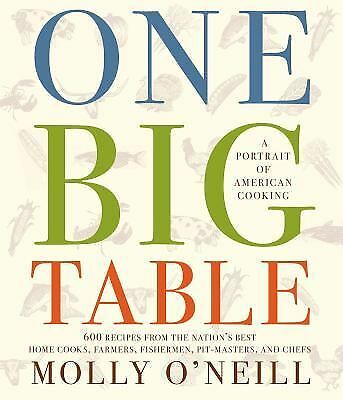 One Big Table, O'Neill, Molly, Good Book
