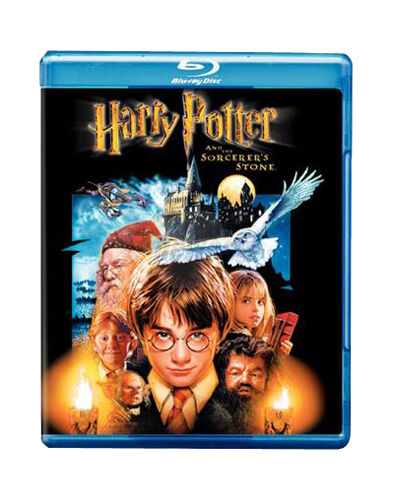 Harry Potter and the Sorcerer's Stone Blue ray + DVD + Digital copy