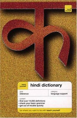 Teach Yourself Hindi Dictionary by Snell, Rupert