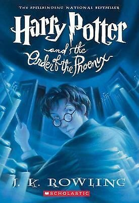Harry Potter and the Order of the Phoenix (Book 5), J. K. Rowling, Mary GrandPré