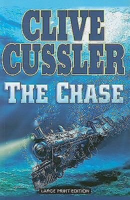 The Chase (Large Print Press), Clive Cussler, Good Book