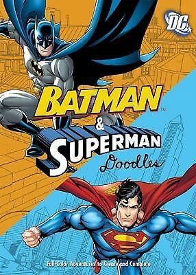 DC Comics Batman & Superman Doodles: Fearless Pictures to Complete and Create, ,