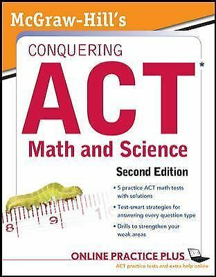 McGraw-Hill's Conquering the ACT Math and Science, 2nd Edition, Dulan, Steven, G