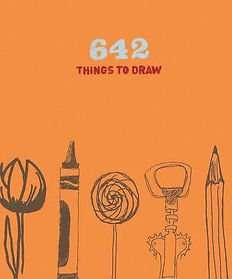 642 Things to Draw: Journal, Chronicle Books, Good Book